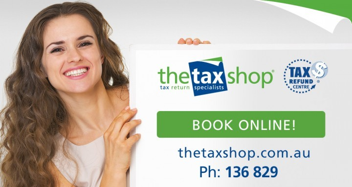 TheTaxShop BLOG-Graphic BookOnline