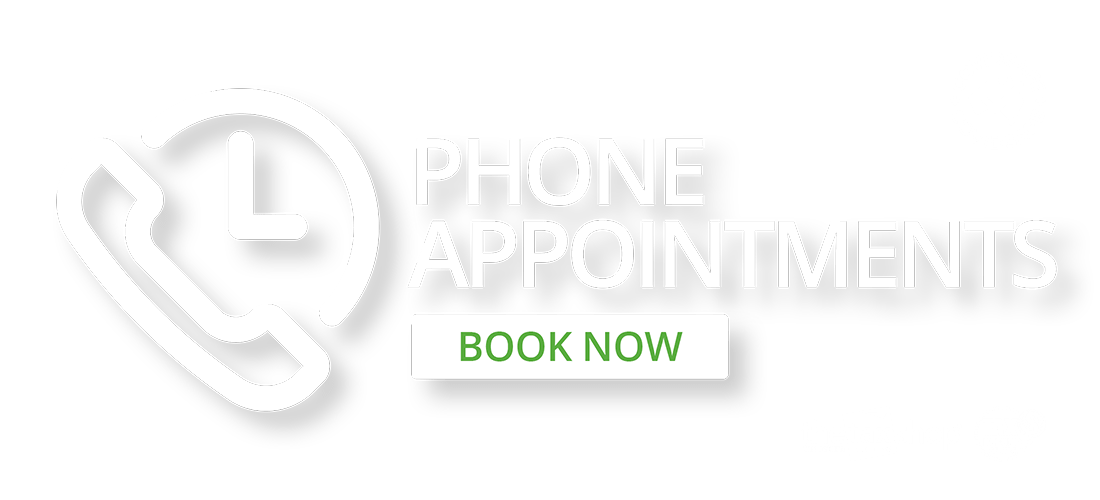 Phone Appointments - Book now